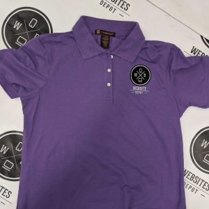 Women Polo T-shirt Purple